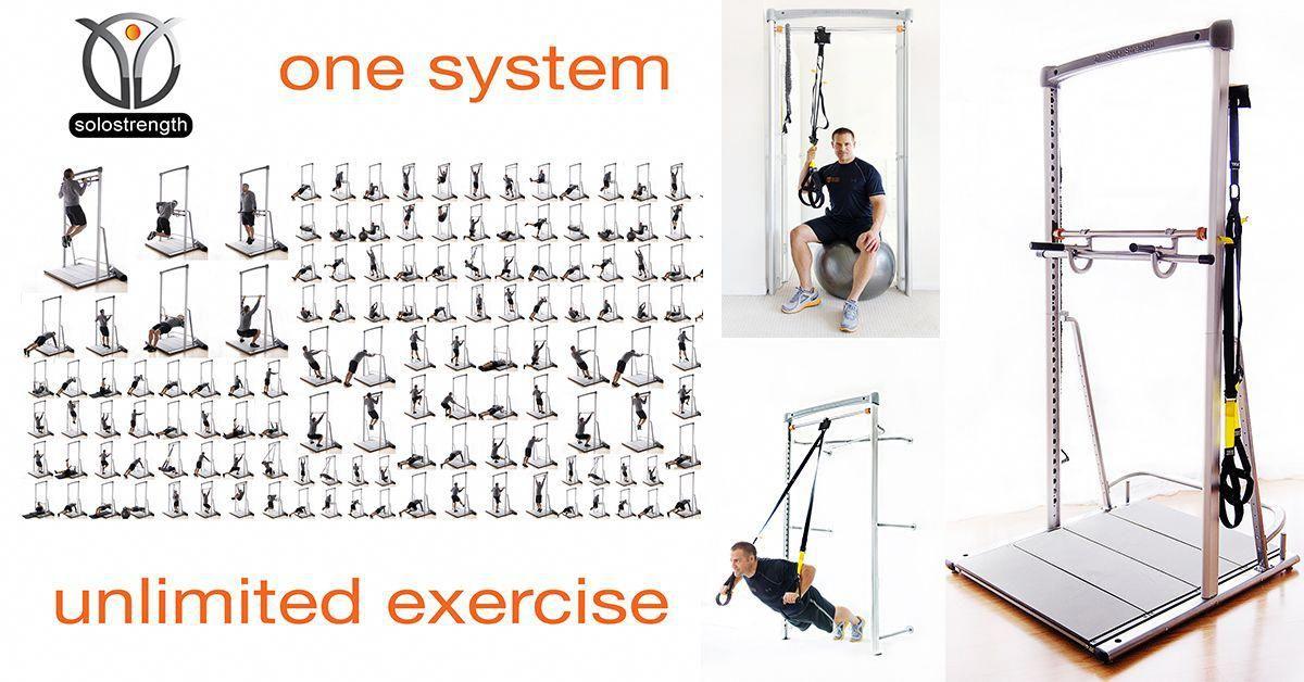 Entrenamiento TRX Core con ejercicio SoloStrength