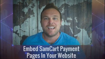 Embed SamCart Payment Pages In Your Website