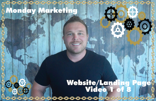 Automation Framework Website Landing Page Video of