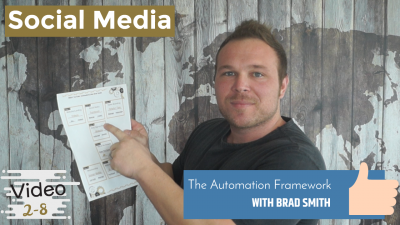 Social Media Automation Framework of