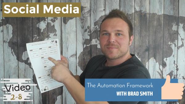 Social Media Automation Framework of
