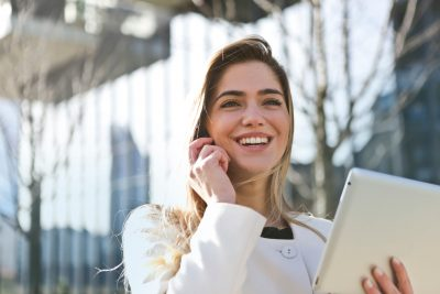 businesswoman career communication