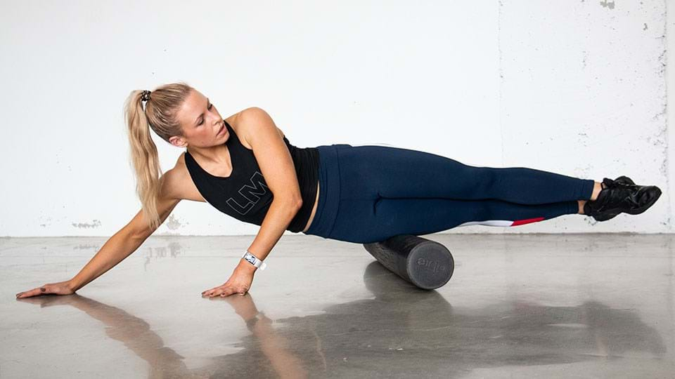 Lymphatics and weight loss foam rolling